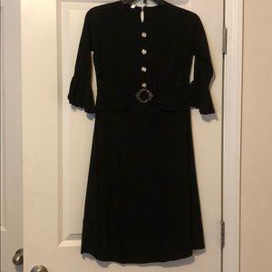 Dresses & Skirts - Black Belted Dress